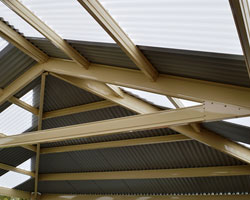 transparent or translucent roofing designs Melbourne