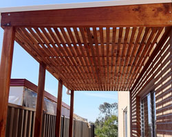 outdoor steel Pergola designs Melbourne