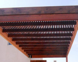timber pergola designs Melbourne